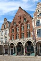Grand-Place d'Arras II - Oldest house by Scipia