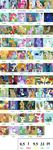 My Little Pony Character Scorecard by cartoonobsessedSTAR1
