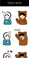 VanossGaming x H2O Delirious Comic (Teddy Bear) by MissyCatArt