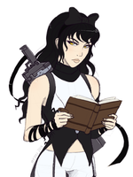 Blake Belladonna Doodle by mirzers