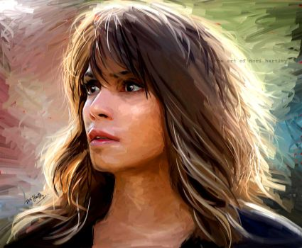 Halle Berry by Lucival