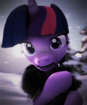 WINTER IS COMING SUPER HARD (SFM MLP) by TheShabbyCat
