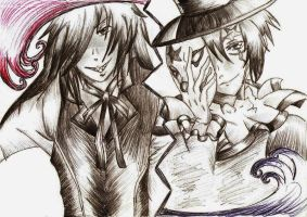 Grell and Allen 2 by arina-seiryuu
