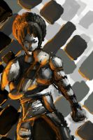 Avatar- Toph Bei Fong -Suit of Metal by anime-halo