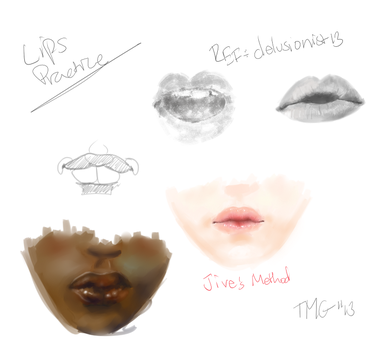More Lips Practice by Room-382