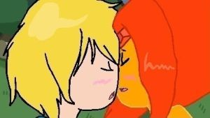 .:Finn and Flame Princess:. by SeanTheDog