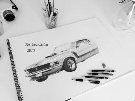 Mustang Boss 302 - Step 5 by Per-Svanstrom