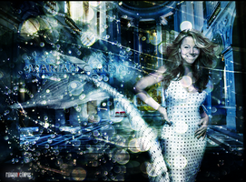 Mariah Glamour Wallpaper by fabianopcampos