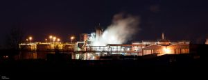 Refinery Light Pano by Estranged89