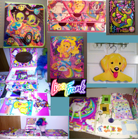 Lisa Frank Collection Lot by BrittanyJustus