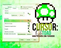 Cursor Toad by YuiWTF
