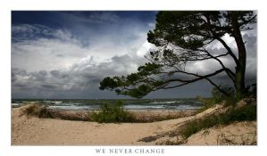WE NEVER CHANGE by Erni009