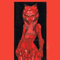 12x12 Ahsoka Tano SLC by Hodges-Art