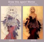 Draw this again: 2005 vs 2012 by akreon