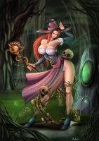 The Sorceress - Dragon Crown by Felox08