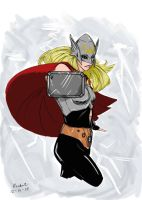 Thor by rocketsandpens