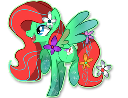 Rainbow Flower by Je-lly