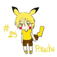 25. pikachu by Nowii