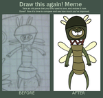 Draw this again! Meme: This Weird Thing by sbtditdatdwt