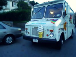 ice cream truck. by crushed--daisies
