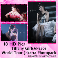 Photopack#9 Tiffany World Tour Jakarta by HanaBell1