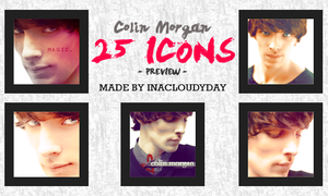 Colin Morgan - 25 Icons by inacloudyday