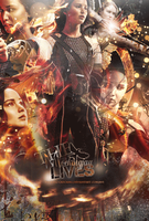 #GirlOnFire-TheMockingjayLives-{Gif-edit} by Fucking-CatchMe