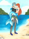 COMM: The Prince and his Mermaid by chelleface90
