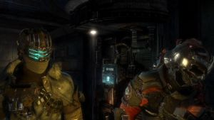 Dead Space 3 John Carver and Isaac Clarke 01 by gearshasfallen