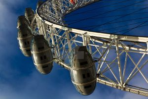 The London Eye by DavidHornchurch