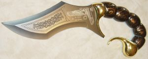 Scorpion Tail Scorpio Dagger by FantasyStock