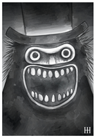 Babadook by sinner-moon