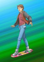 Hoverboard Chase by Aitia