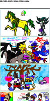 Md and Kiba: On iScribble 37 by Mdpikachu