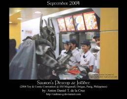 Sauron's pitstop at Jollibee by cadmus-g