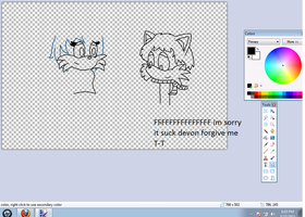 :wip: commison 2 devon family by monkiesonunicyclesXD