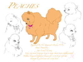 Character Profile - Peaches by shelzie