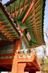 Seoul temple architecture III by Lykorias