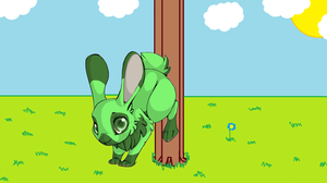 earth rabbit by xion9299