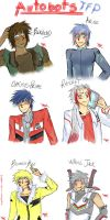 Transformers Prime - Autobots Humanized by Temarigirl1600