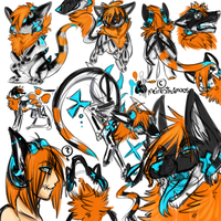 Sketch Page Commission: meiresthaimoros by MystikMeep