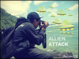allien attack by MasterminDcrew