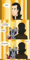 The Swan Loki by Celestialess