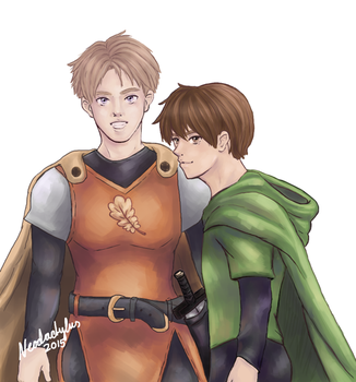 RA: Horace and Will by neodactylus