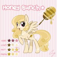 SOLD: Pegasus Adoptable - Honey Bunch by steffy-beff
