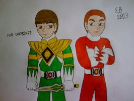 Ranger Brothers by shnoogums5060