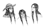 Kieran Sketches by CadaverousCreature
