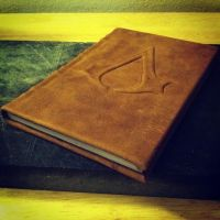 Assassins Creed Codex Leather Bound Hand Made Book by MerrillsLeather