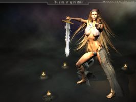 The warrior apprentice by rlcwallpapers