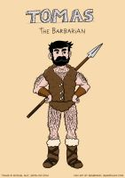 Tomas the Barbarian by LordRembo